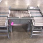 Carton Conveyor with Pop-Up V-Belt Transfer WM Kelley