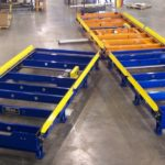 Tote Indexing Chain Conveyor WM Kelley